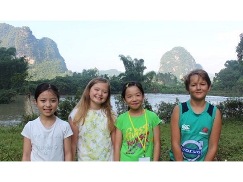 Year 5 in Yangshuo, China.