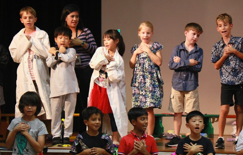 Upper Primary Assembly - Hari Raya Puasa by 4CP, 4EB and 3/4PS