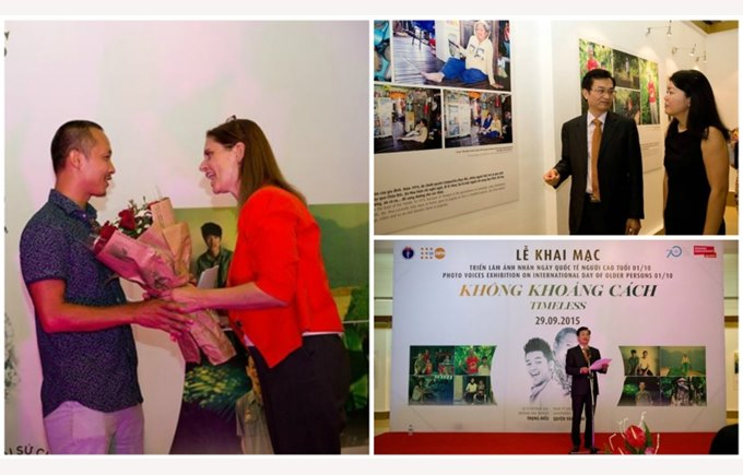 Timeless photo exhibition - BVIS Hanoi (1)