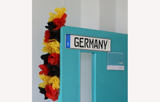 german door