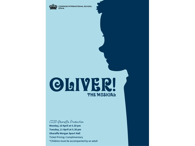 Oliver Production Poster Gharaffa