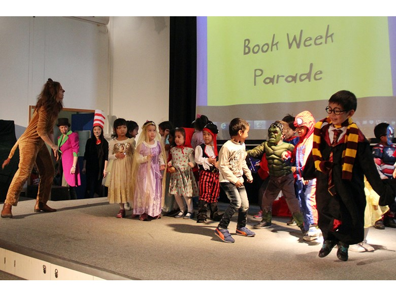 Reception and Year 1 Book Week Parade