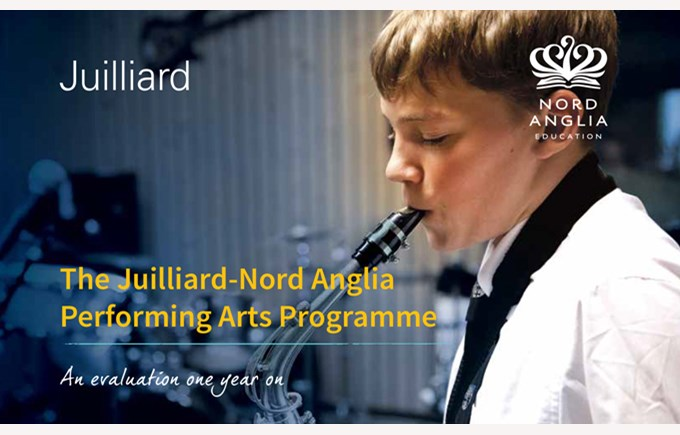 Juilliard-Nord Anglia Performing Arts Programme 1 year evalution