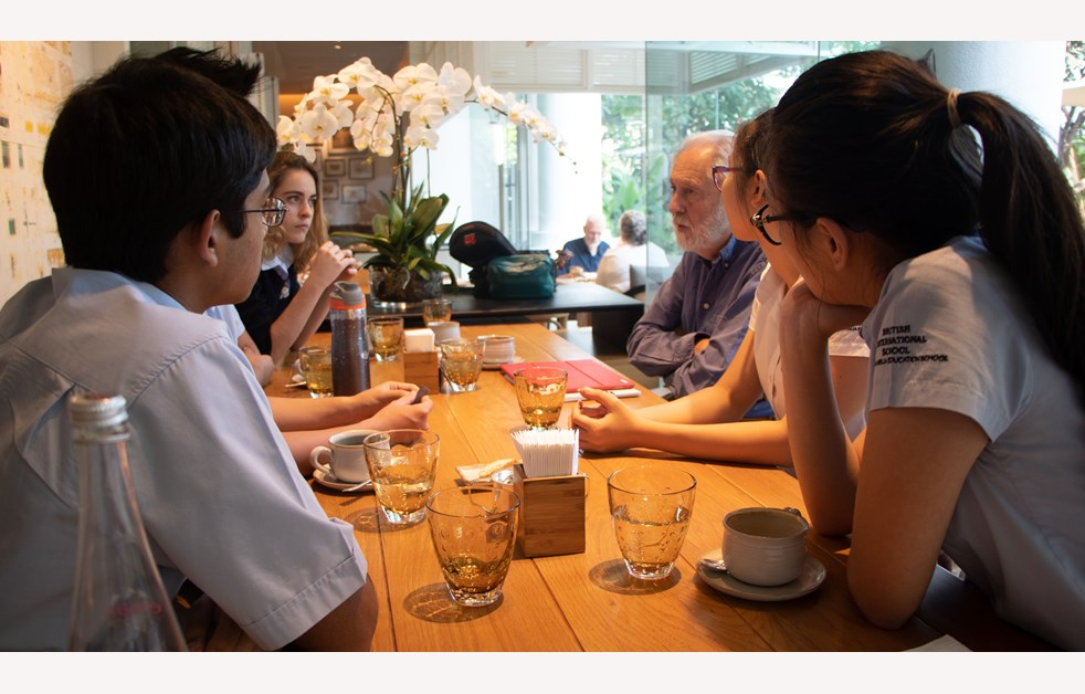 Lunch with Lord Puttnam | BIS HCMC
