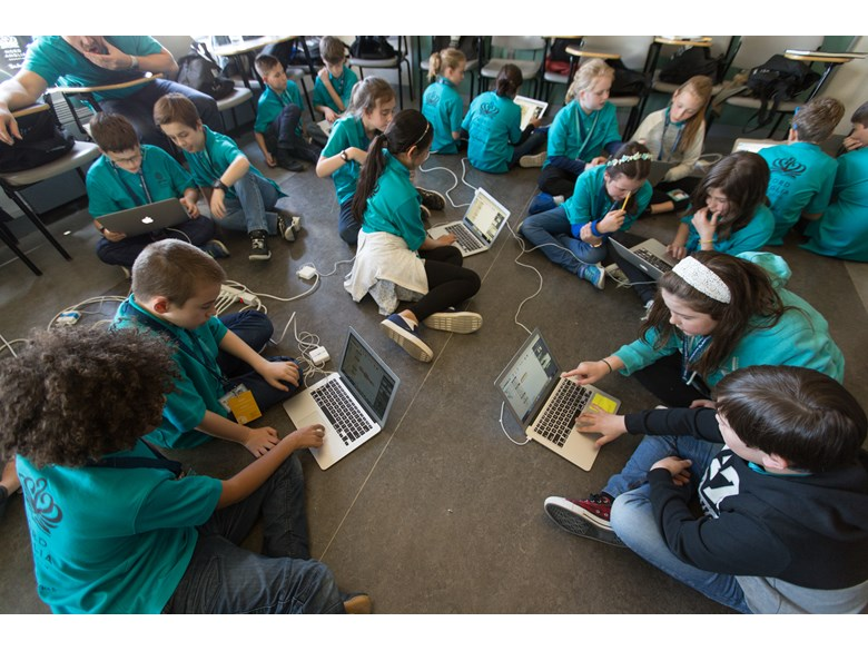 MIT students learn code