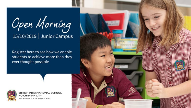 Junior Campus Open Morning - British International School HCMC