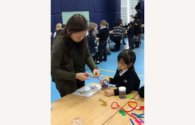 Y1 Christmas Craft Morning