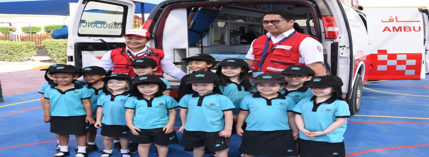 STEAM Day at Rayyan 26 May 2019 Ambulance
