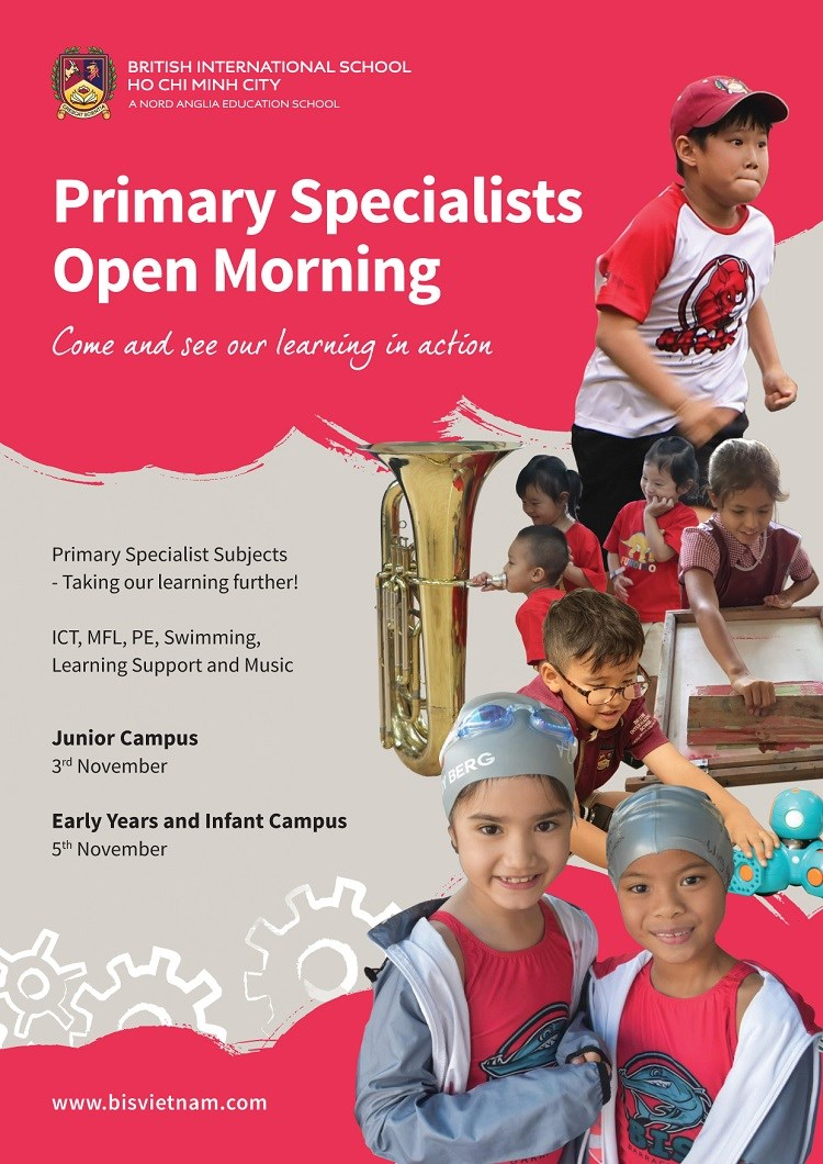 Primary Specialist Open Morning 2020 Poster
