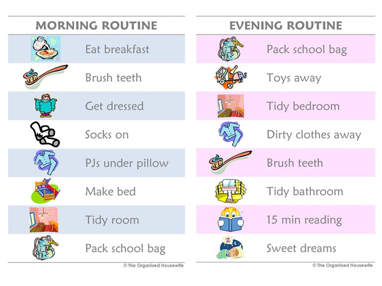 Northbridge International School Cambodia - Routine