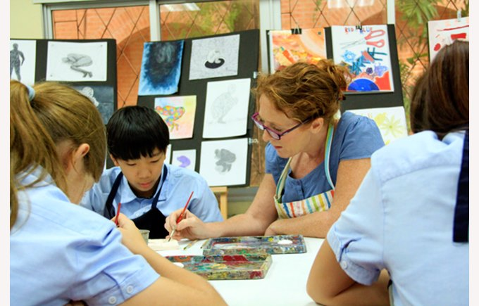 Creative Arts at Regents International School Pattaya