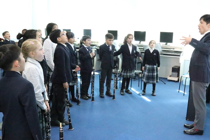Juilliard 12 - Year 4 clarinet class