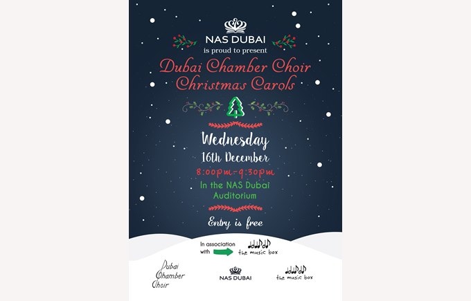 Dubai Chamber Choir Christmas Carols