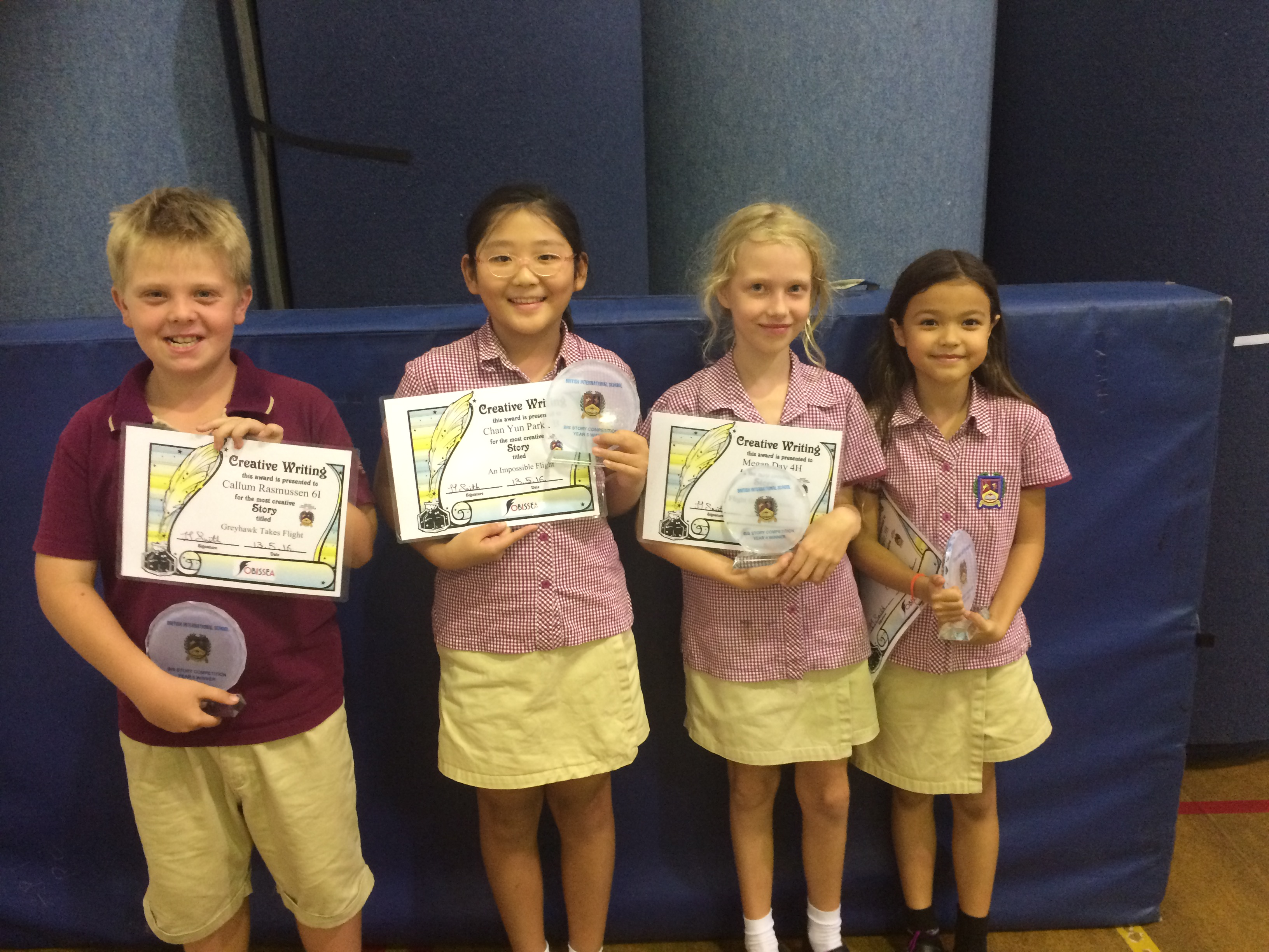 Short story winners