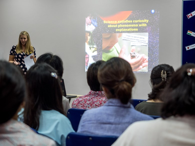 Britist International School Hanoi - Science workshop