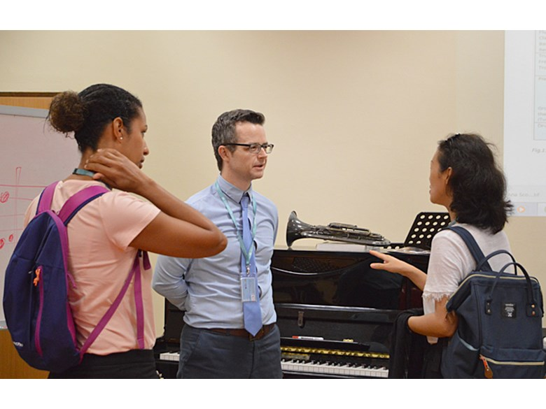 Juilliard-Nord Anglia Performing Arts Curriculum Workshop