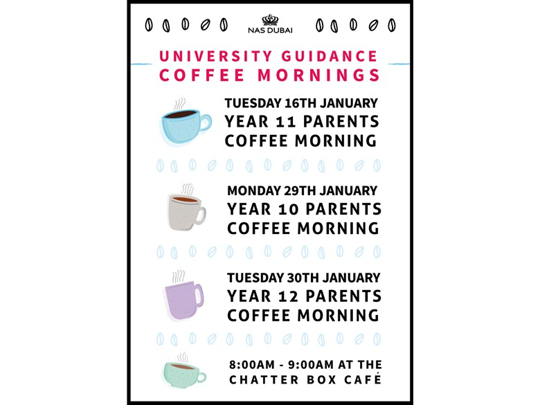 University Guidance Coffee Mornings