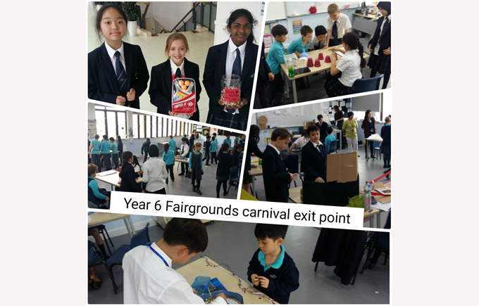 Year 6 Carnival Exit Point