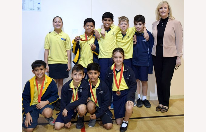 Rayyan Rounders Bronze Medalists