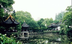 Image of Qushui Garden Qingpu, China Shanghai, China, safe living in Shanghai, living in China, Shanghai China.