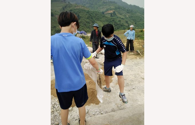 BIS Secondary Year 9 Sapa Expedition