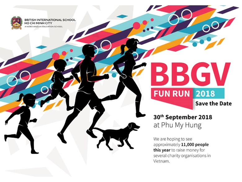 BBGV Fun Run 2018 BIS HCMC