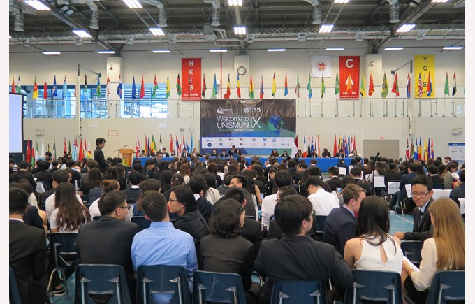UNISMUN conference 2017 BIS HCMC