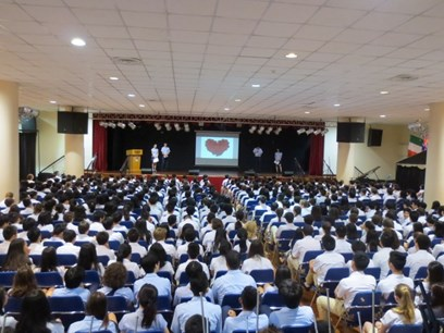 Whole school assembly4