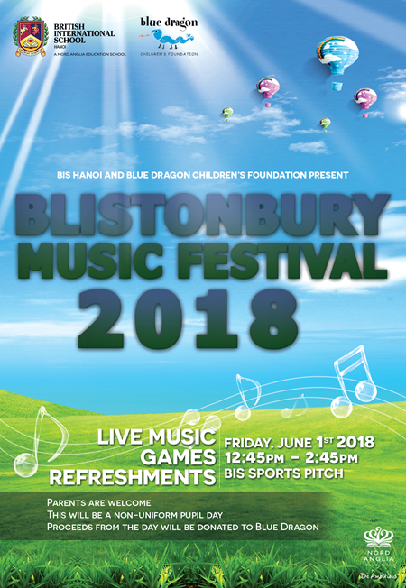 Blistonbury poster