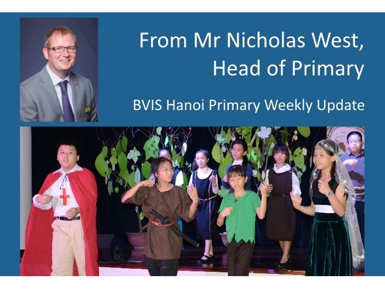 BVIS Hanoi Primary update 26 June