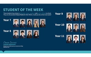Student of the week Dec 14 540x329