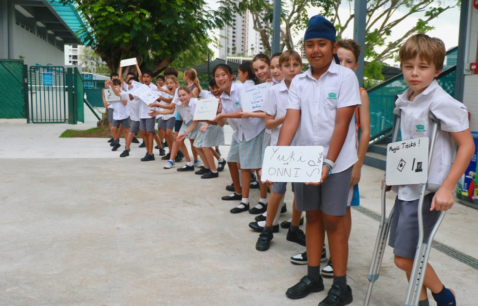World Children's Day at Dover Court International School