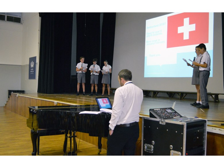 Secondary Assembly: Global Campus Switzerland Expedition