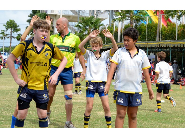 DCIS Boys on Rugby Tour to Bali