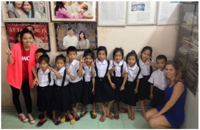 Visits to the Que Huong orphanage