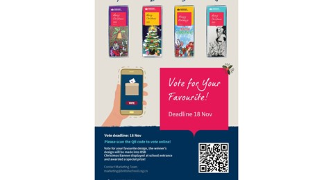 Christmas Design Vote poster 540x329