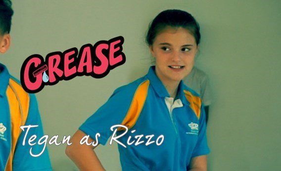 Introducing the Cast of Grease: Tegan as Rizzo