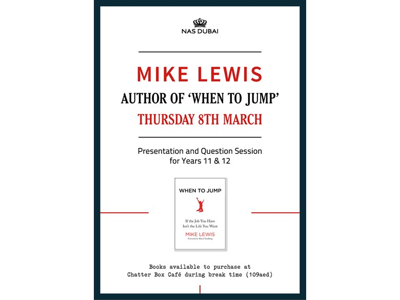 Author Mike Lewis