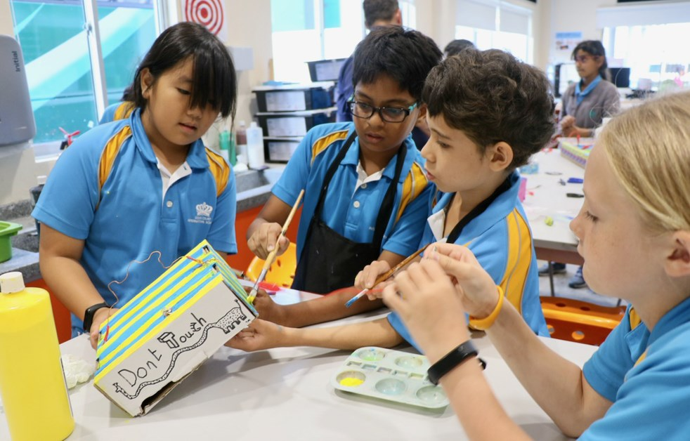 Dover Court International School Singapore 5DH STEAM in The Link