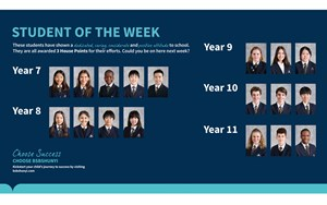 Secondary student of the week 20201120