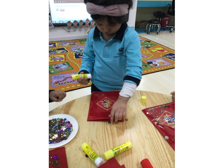 Chinese New Year Festivities In Pre-Nursery