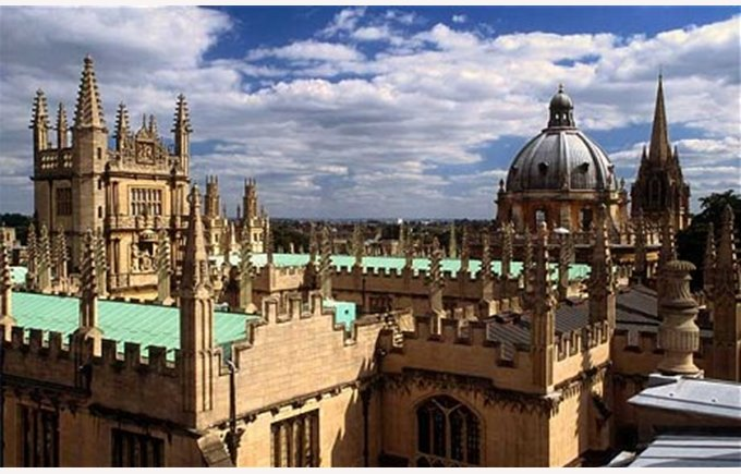 The spires of Oxford University
