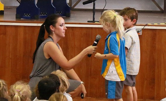 Friendship and Kindness at Lower Primary Assembly