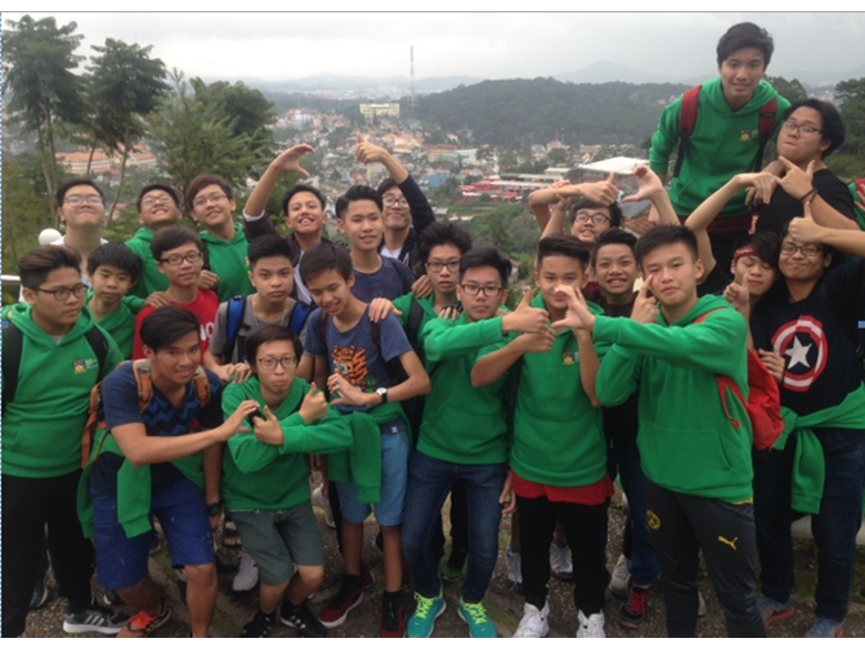 British International School Secondary Year 10&11 Dalat Trip