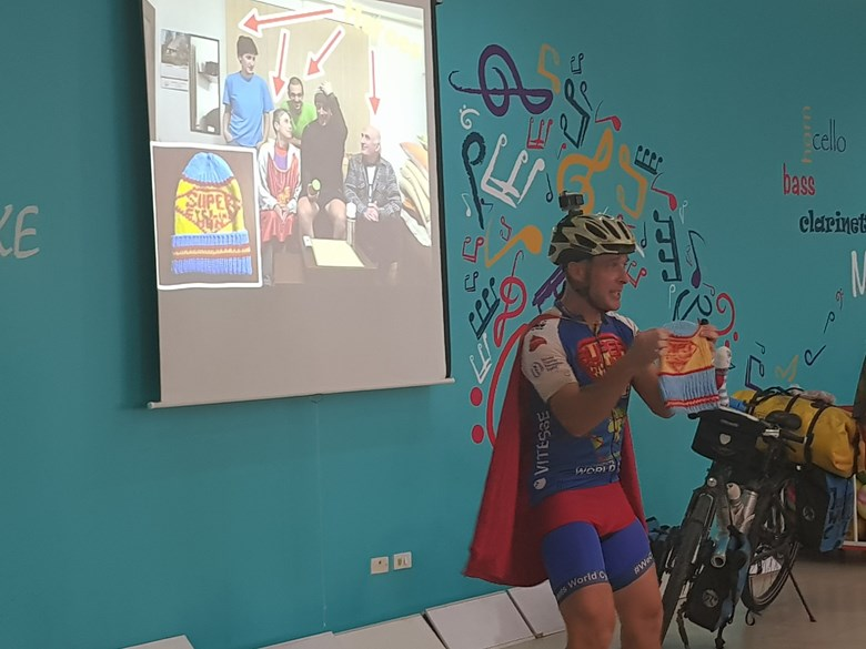 Britist International School Hanoi - Super Cycling Man