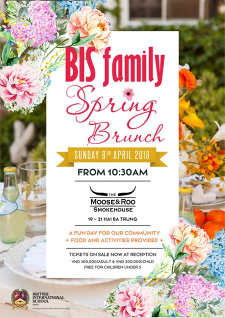 Britist International School Hanoi - Spring Brunch