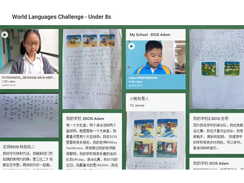 World Languages Challenge 2017 - Year 3 Mandarin
