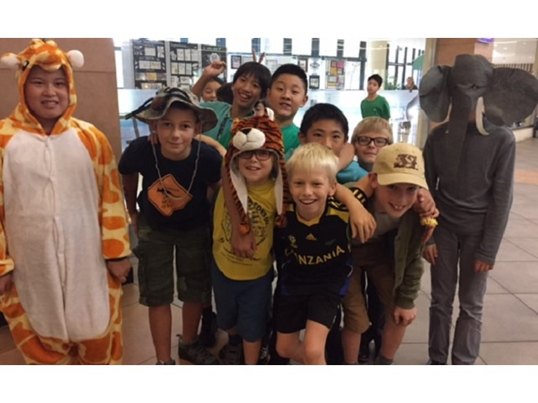 Tanzania Safari Themed Dress-up Day