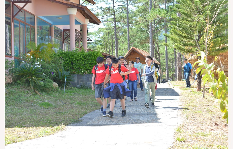 BVIS HCMC Year 8 to Da Lat 2018 (9)