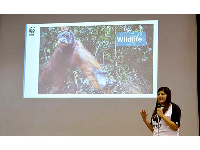 WWF Visit to DCIS